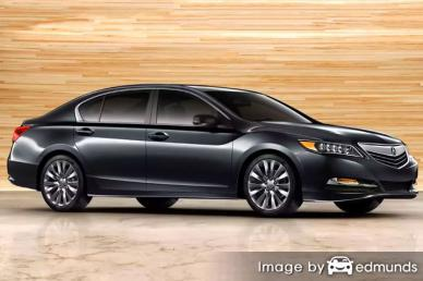 Insurance rates Acura RLX in Lexington