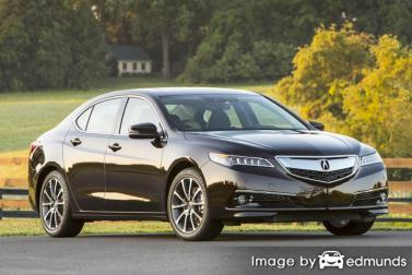Insurance quote for Acura TLX in Lexington
