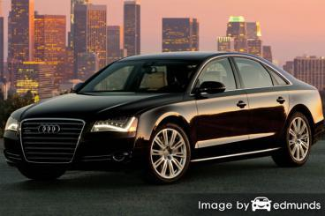 Insurance quote for Audi A8 in Lexington