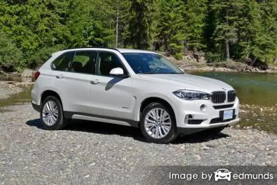Insurance quote for BMW X5 in Lexington