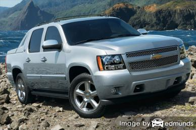 Insurance rates Chevy Avalanche in Lexington