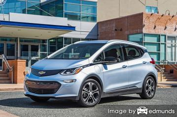 Insurance quote for Chevy Bolt EV in Lexington