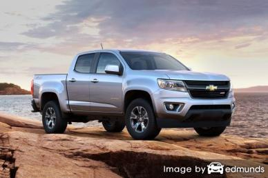 Insurance quote for Chevy Colorado in Lexington