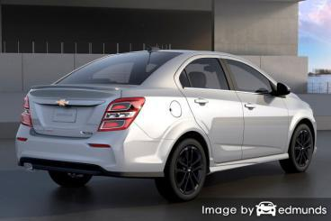 Insurance rates Chevy Sonic in Lexington