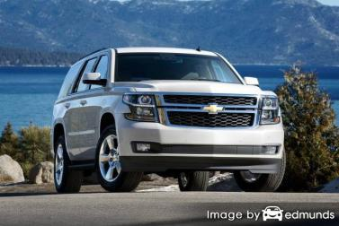 Insurance rates Chevy Tahoe in Lexington