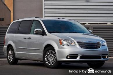 Insurance rates Chrysler Town and Country in Lexington