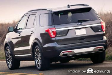 Insurance quote for Ford Explorer in Lexington