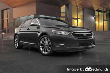 Insurance rates Ford Taurus in Lexington