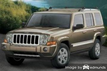 Insurance quote for Jeep Commander in Lexington