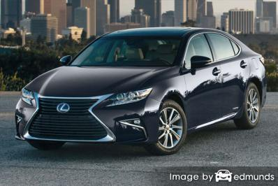 Insurance rates Lexus ES 300h in Lexington