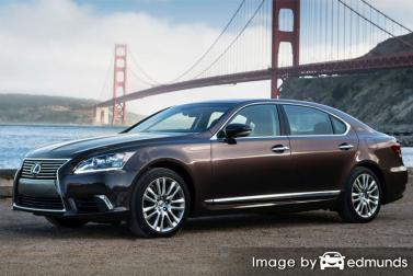Insurance rates Lexus LS 600h L in Lexington