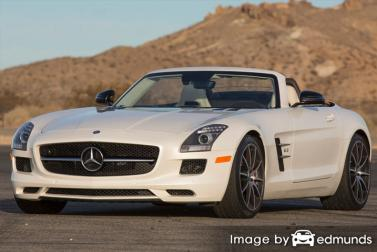 Insurance rates Mercedes-Benz SLS AMG in Lexington