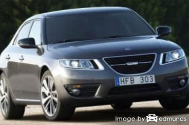 Insurance quote for Saab 9-5 in Lexington