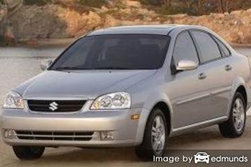 Insurance quote for Suzuki Forenza in Lexington
