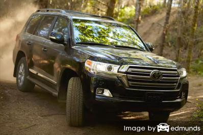 Insurance rates Toyota Land Cruiser in Lexington