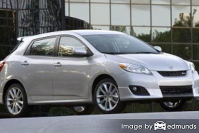 Insurance quote for Toyota Matrix in Lexington