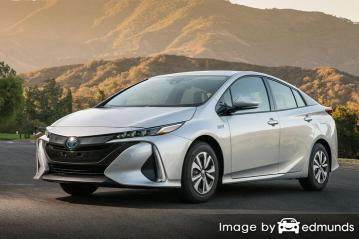 Insurance rates Toyota Prius Prime in Lexington