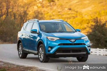 Insurance quote for Toyota Rav4 Hybrid in Lexington