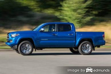 Insurance quote for Toyota Tacoma in Lexington