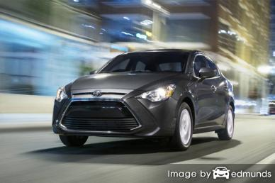 Insurance rates Toyota Yaris iA in Lexington