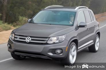Insurance quote for Volkswagen Tiguan in Lexington